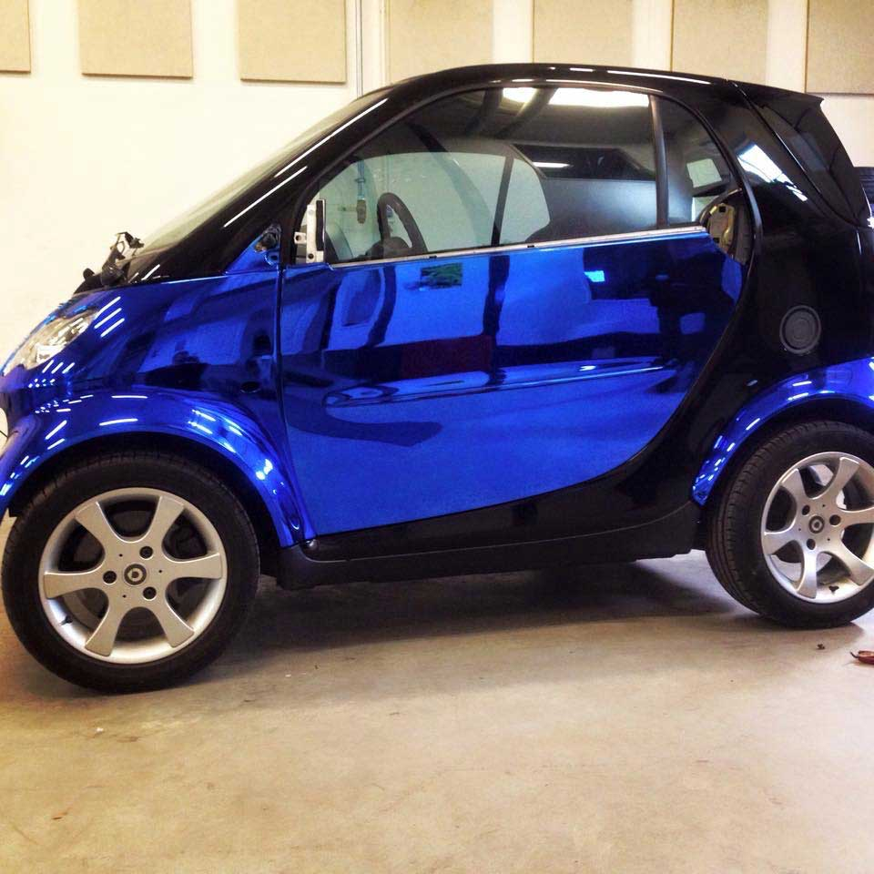 Smart fortwo in chrome